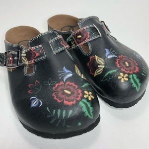 1a044bdba9b6 Calceo Shoes - CALCEO Floral Clogs New Never Worn Size 7